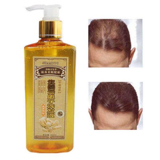 Шампунь с имбирем от выпадения волос