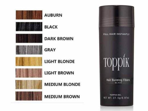 Hair building fibers Toppik