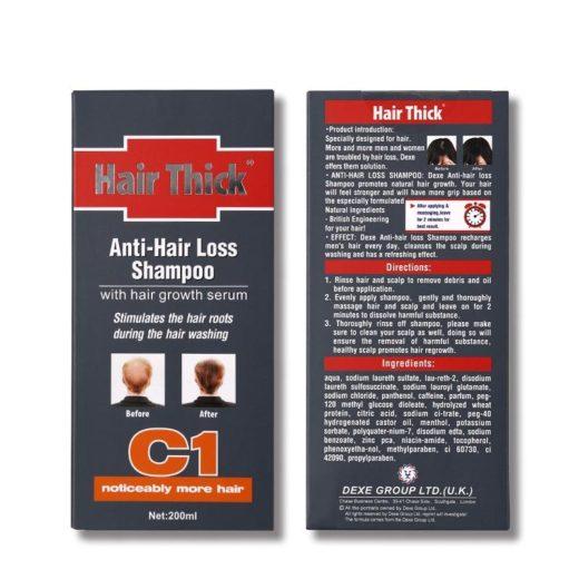 Шампунь против выпадения волос DEXE C1
