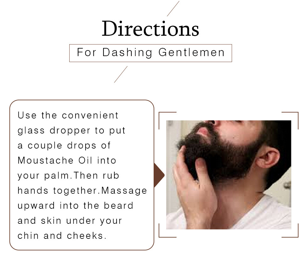 Натуральное масло для бороды и усов Lanthome